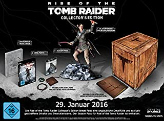 Rise of the Tomb Raider - Collector's Edition (B01A751MDQ)   Amazon price tracker / tracking, Amazon price history charts, Amazon price watches, Amazon price drop alerts