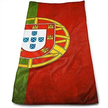 Portugal Drapeau Imprimé Photo plage bain main Gym Serviette
