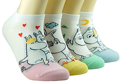 Liebe Moomin Tier Socken
