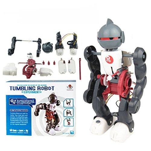 Die Montage der Roboter, mamum DIY Montage Spielzeug Geschenk Jugendliche Tumbling Roboter Modell Bildung Spielzeug