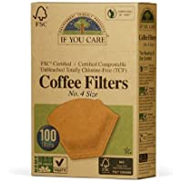 Coffee filters Unbleached by If you care, pack of 100