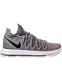 1968c01fded7 NIKE Mens Kevin Durant KD 10 Basketball Shoes Multicolor Black-Cool  Grey-White