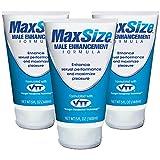 MaxSize TM Creme zur Penis-Vergrößerung - Multipack | Potenz-Mittel zur Verbesserung der...