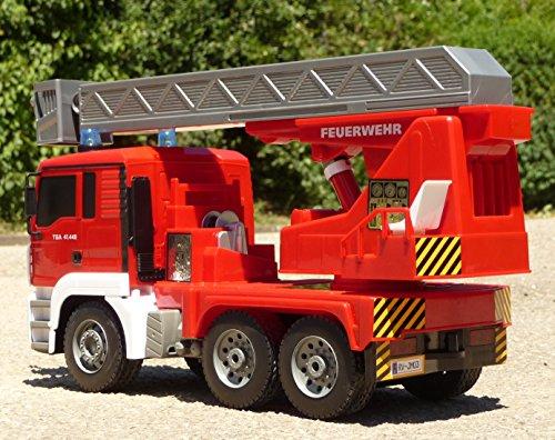 RC Auto kaufen Feuerwehr Bild 4: RC FEUERWEHR LKW MAN mit 7 Funktionen 35cm Ferngesteuert 2,4GHz*