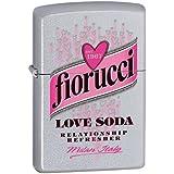 Fiorucci Love Soda Briquet Zippo, en laiton