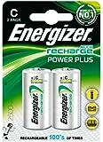 Energizer 2 x C Rechargeable Batteries NiMH