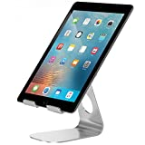 Supporto iPad, Pasonomi® Multi-Angolo Mini Portatile Durevole in Alluminio Stand Supporto di Tablet per iPad Pro, iPad Air/mini , Samsung Galaxy Tab, Kindle, E-Reader e Smartphone