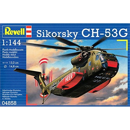 Revell - 04858 - Maquette - Sikorsky CH-53G - 66 Pièces