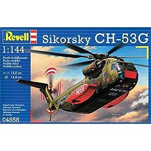 Revell-CH-53G Heavy Transport Helicopte Kit Modelo, (04858)