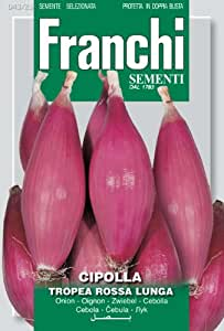 Seeds of Italy Ltd. Franchi Graines d'oignons rouges de Tropea