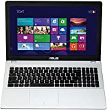 Asus F551MAV-BING-SX1007B 39,6 cm (15,6 Zoll) Laptop (Intel Celeron N2840, 2,58GHz, 4GB RAM, 500GB HDD, Intel HD, DVD, Win 8) weiß