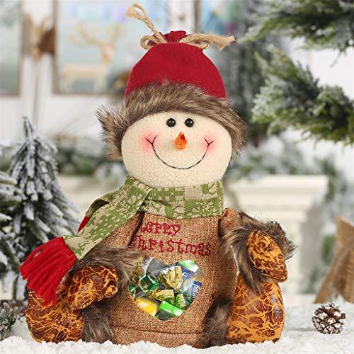 Daygeve Zuhause Party Deko, Anatomische Tracing, Medizinische Lehre, Halloween Dekoration Statue,Weihnachtsdekoration Cartoon Apple Bag Candy Bag Geschenktüte (Cute Girl Wolf Kostüm)