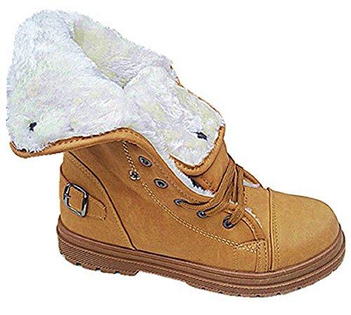 femme-baskets-montante-bottines-fourrure-fille-boots-fourree-mode-chaud-669-camel-39