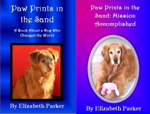 Books About Dogs Combo-Paw Prints in the Sand AND Paw Prints in the Sand: Mission Accomplished (English Edition) Animal-print Combo