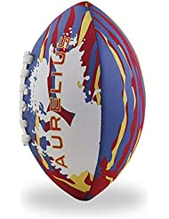 Aurelius (fútbol americano hinchable playa pelota de rugby fútbol de jóvenes con tamaño pequeño, color rojo, tamaño small