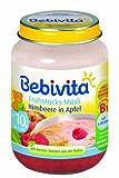 Bebivita, Himbeere in Apfel, 6er Pack (6 x 160g