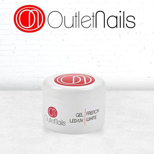 Gel Francesa blanco UV/LED 15ml Uñas/Gel French White