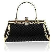La nuova borsa borsa sposa borsa banchetto moda fibbia diamante borsa ( colore : Rosso )