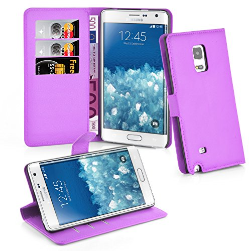 Cadorabo - Carcasa para Samsung Galaxy Note Edge, Color Morado