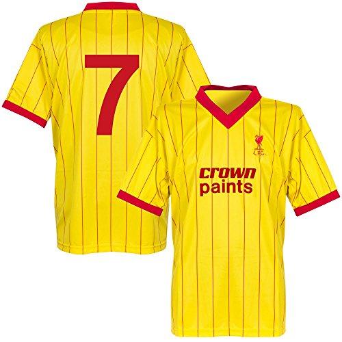 1982 Liverpool Away Retro Trikot + No7 - S