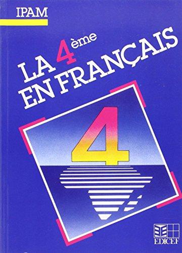 La 4e en français. Elève