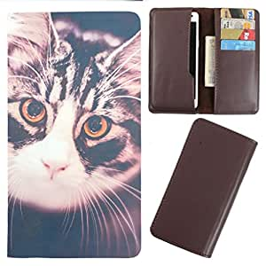 DooDa - For Samsung Galaxy Z3 PU Leather Designer Fashionable Fancy Case Cover Pouch With Card & Cash Slots & Smooth Inner Velvet
