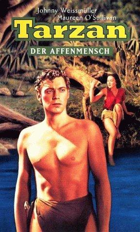 Tarzan, der Affenmensch (s/w) [VHS]