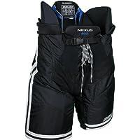 Bauer Nexus 800 pantalones de hockey para adulto, color Negro - negro, tamaño S