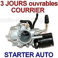 CARBURATEUR STARTER AUTOMATIQUE pour PEUGEOT LUDIX TREND CLASSIC ELEGANCE 50