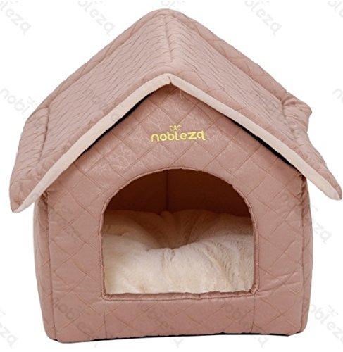 FORPET� 025886 Cuccia per cani a forma di casetta, casetta cane con materasso, cuscino per animali,