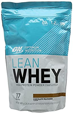 Optimum Nutrition Lean Whey Protein Powder, Chocolate, 465 g by Optimum Nutrition