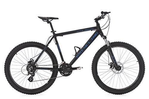 KS Cycling Mountainbike Hardtail GTZ RH 51 cm Fahrrad, schwarz/Blau, 26 Zoll