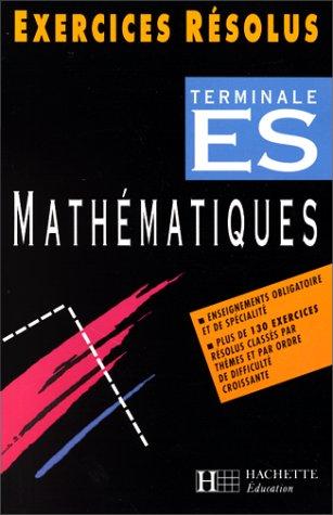 Maths, Terminale ES