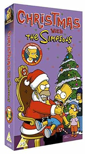 Click for larger image of The Simpsons - Christmas With The Simpsons [VHS] [1990]