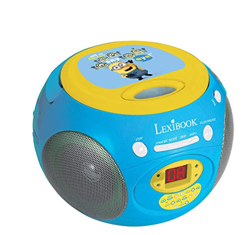 """Lexibook RCD102DES \""""Ich - Einfach Unverbesserlich\"""" Radio / CD-Player"""
