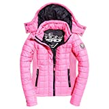 Superdry - Manteau - Femme Rose Fluro Hot Pink -  Rose - X-Large