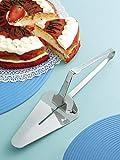 Brandani Pala dolce In acciaio Inox con leva servi torta