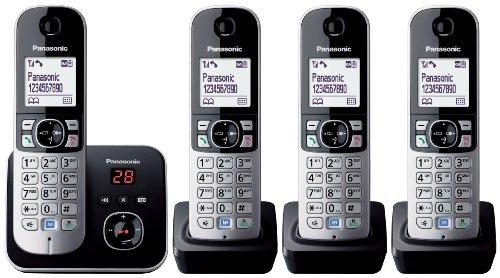 panasonic-kx-tg6824eb-quad-dect-cordless-telephone-set-with-answer-machine