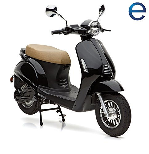 Nova Motors E-Roller, 3000 Watt, 45 km/h, schwarz, »Grace«