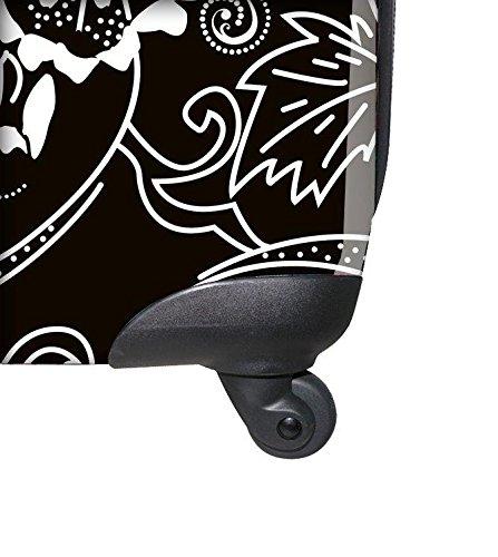 ... 50% SALE ... PREMIUM DESIGNER Hartschalen Koffer - Heys Novus Art Lavender - Handgepäck Bronze