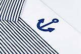 Amilian® Baby Bettwäsche Design: Anker, 80x80 cm + 35x40 cm (4 tlg)