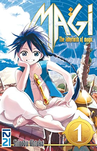 Couverture du livre Magi - tome 01 (Magi - The Labyrinth of Magic t. 1)