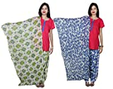 Indistar Women's Cotton Patiala Salwar w...