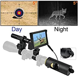 WGng 850nm Infrarouge LED IR Vision Nocturne Lunette de visée Lunettes de visée optiques Optique Vue étanche Chasse Chasse caméra Chasse Faune Nuit Visi