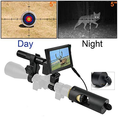WGng 850nm Infrarot LED IR Nachtsicht Zielfernrohr Jagd Scopes Optik Anblick wasserdichte Jagd Kamera Jagd Wildlife Night Visi