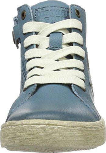 Bisgaard Unisex-Kinder Schnürschuhe High-Top Blau (600-3 Jeans)