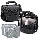 Best Tarjeta de memoria para la Canon PowerShot SX600 Hs - DURAGADGET Funda / Bolsa protectora negra para cámara Review