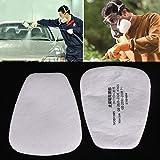 Giantree Protection de peinture particulaire de coton de filtre de N95 5N11 pour le masque de gaz de 3M 6200