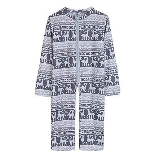 Challeng Familie Passenden Pjs für Weihnachten Hohe Qualität Mama Papa Deer Tops Hosen Pyjamas Nachtwäsche Lange Overalls Pjs Overall