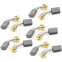 10 Piezas Herramienta Eléctrica Recambio 12mm x 8mm x 5mm Motor Escobillas De Carbono